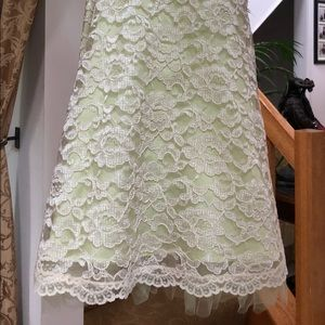 Lace strapless special occasion dress size 3/4